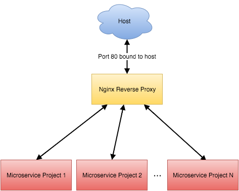 Using Nginx as a Reverse Proxy for Developing Microservices